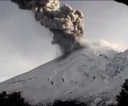 El volcán Popocatépetl mantiene una actividad con exhalaciones de vapor de agua y ceniza en las últimas 24 horas 2