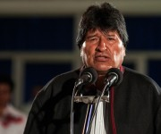 Evo Morales Ayma, presidente del Estado Plurinacional de Bolivia, llegó a La Habana en la noche de este sábado. Foto: Calixto N. Llanes/ Juventud Rebelde