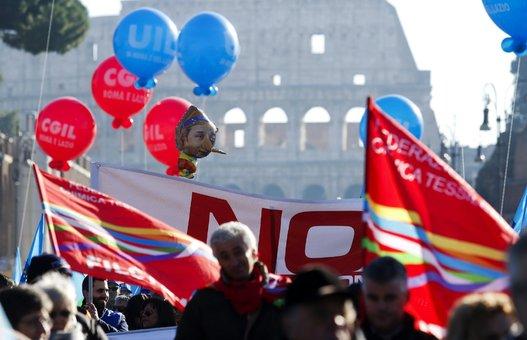 Huelga general Italia (2)