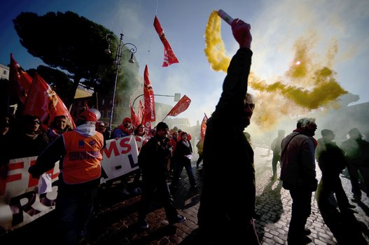 Huelga general Italia (4)