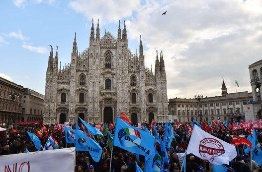Huelga general Italia (7)