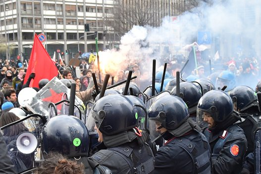 Huelga general Italia (9)
