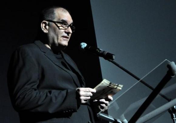 Intervención de  Iván Giroud, director del Festival del Nuevo Cine Latinoamericano, durante la inauguración de su 36 edición, en el teatro Karl Marx, en La Habana, el 4 de diciembre de 2014. AIN FOTO/Marcelino VAZQUEZ HERNANDEZ/rrcc