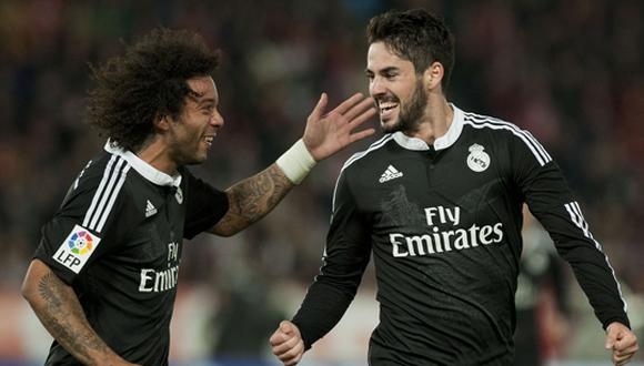 El Real Madrid se reafirma en la cima de la liga  derrota al Almería ... f4661d3ef2103