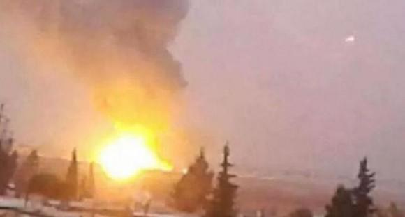 Israel ataca zonas aledañas al Aeropuerto Internacional de Damasco.