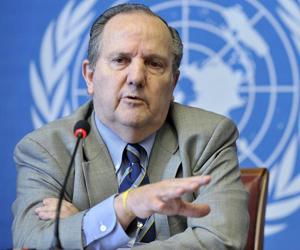 """Juan Méndez: """"Estados Unidos debe cumplir con las normas que ha establecido tanto para sí mismo como para otros"""". Foto tomada de laplataya.com"""