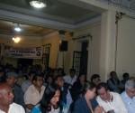 El pronunciamiento fue leído al término del encuentro que congregó a representantes de los cubanos establecidos en Lima  y en las ciudades de Chiclayo, Arequipa, Trujillo, Junín y Puerto Maldonado.