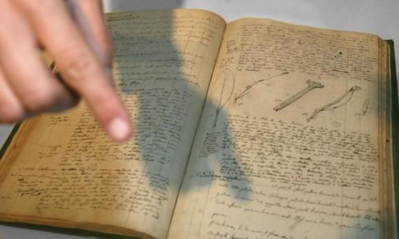 Foto: Manuscrito de Alexander von Humboldt / elmundo.es