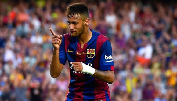 Dos goles de Neymar sellaron la clasificación del club catalán