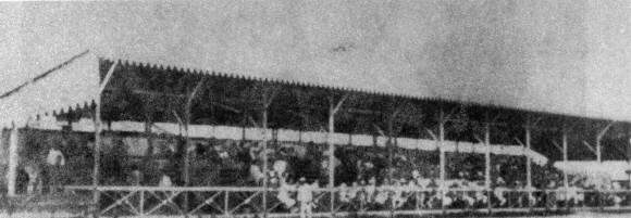 El Estadio Palmar del Junco, como lucía en 1874.