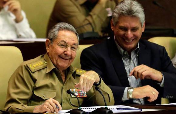 Raúl Diaz Canel Asamblea Nacional del Poder Popular