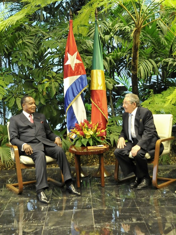 Raúl y Presidente del Congo