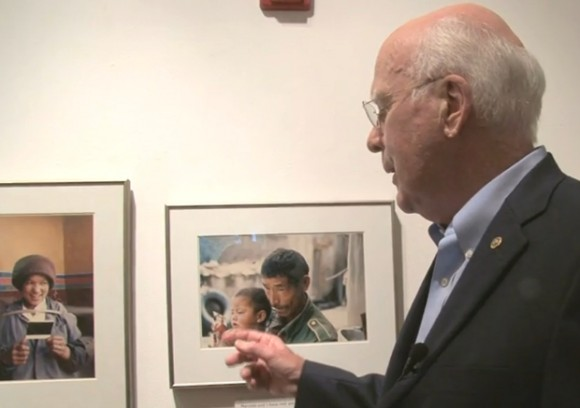 Sen. Leahy- President pro tem and photographer