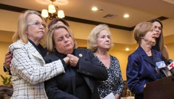 La congresista republicana, Ileana Ros-Lehtinen, al conocer la noticia sobre la liberación de los tres héroes cubanos y el inicio de normalización de las relaciones entre Cuba y Estados Unidos. Foto: AP.