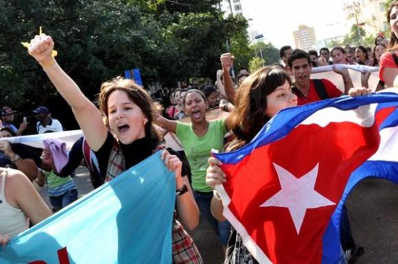 Gerardo, Ramón y Antonio envían mensaje de felicitación y agradecimiento al pueblo de Cuba