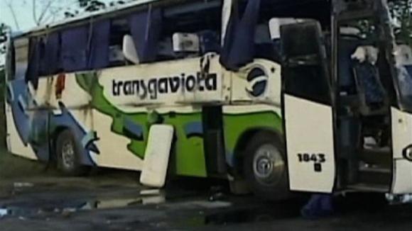 Imagen tomada de la Televisión.