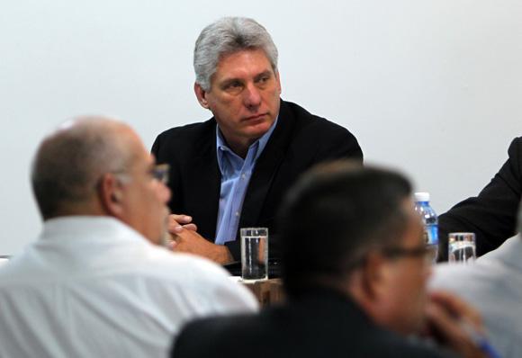 Miguel Diaz Canel  en Asamblea Nacional Trabajo en Comisiones, Sala 8 Educación, Cultura, Ciencia, Tecnología y Medio Ambiente. Foto: Ismael Francisco/Cubadebate.