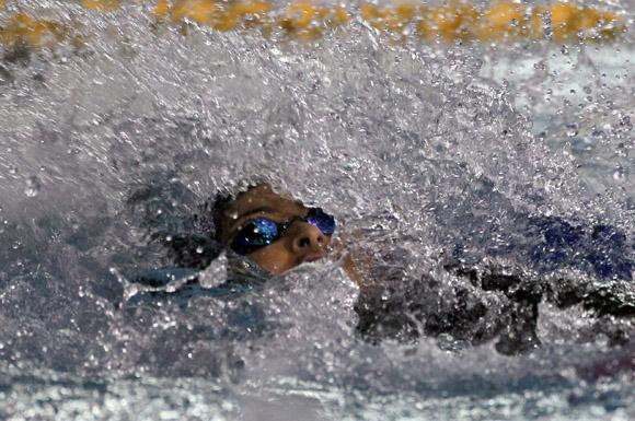 Natación de los Juegos Centroamericanos y del Caribe. Foto: ismael Francisco/ Cubadebate.