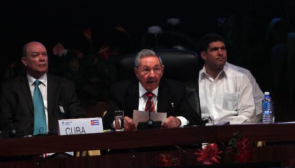 Raúl Castro en la Cumbre Caricom-Cuba: Los desafíos del siglo XXI nos obligan a unirnos