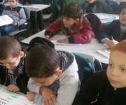 En la escuela de Rafa'i las actividades empezaron tarde, como en el resto del sistema educativo. Foto: BBC Mundo