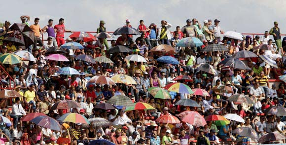 Juego de las Estrella de veteranos. Foto: ismael Francisco/Cubadebate.