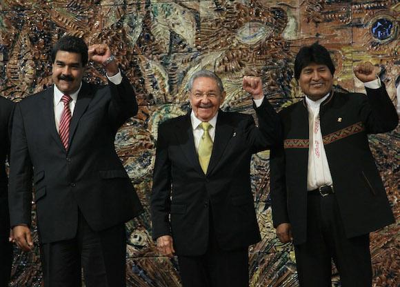 Foto de Familia de la Cumbre del ALBA-TCP. Foto: Ismael Francisco/ Cubadebate