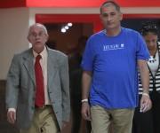 El doctor Félix Báez, de 43 años y especialista en medicina interna en el hospital militar habanero Carlos J. Finlay, llegó a La Habana tras ser dado de alta del Hospital Cantonal de Ginebra (HUG), tras padecer el Ébola. Foto: Ismael Francisco/ Cubadebate