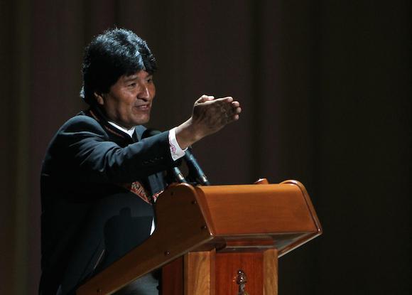 Evo Morales en la clausura de la Cumbre ALBA-TCP. Foto: Ismael Francisco/ Cubadebate