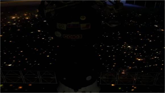 Fotograma capturado por el astronauta