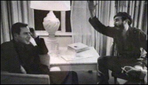 Jean Daniel y Fidel en 1963.