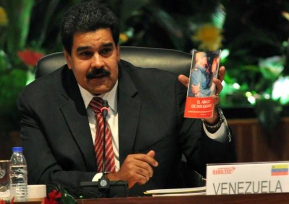 Intervención Nicolás Maduro Moros, Presidente de la República Bolivariana de Venezuela, durante la inauguración de la XIII Cumbre de la Alianza Bolivariana para los Pueblos de Nuestra América-Tratado de Comercio de los Pueblos (ALBA-TCP), en el  Palacio de la revolución, en La Habana, el 14 de diciembre de 2014. AIN FOTO/Marcelino VAZQUEZ HERNANDEZ/