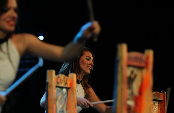 Habana Compás Danza en Gala por el 15 Aniversario de la Mesa Redonda. Foto: Ismael Francisco/Cubadebate.