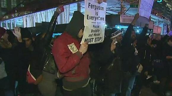 protesta en nueva york por caso eric garner 2