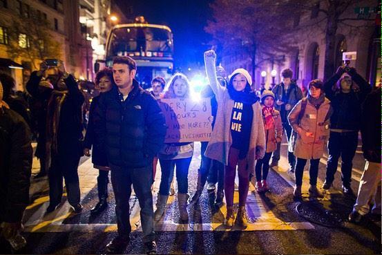 protesta en nueva york por caso eric garner