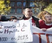 protestas en españa por medicamentos para hepatitis c salud