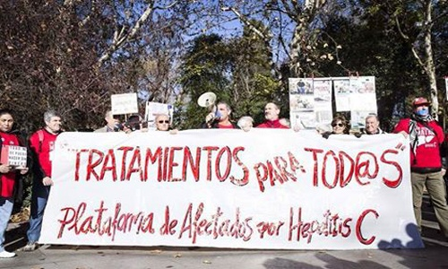 protestas en españa por medicamentos para hepatitis c salud 3
