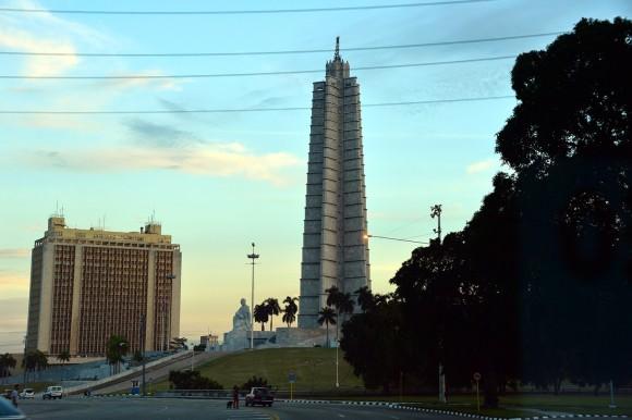 Plaza de la Revolución. Foto: Silvio Rodríguez/ Blog Segunda Cita.