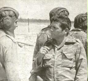 El Coronel Suárez en Longa. Foto: Pedro Prada/Verde Olivo