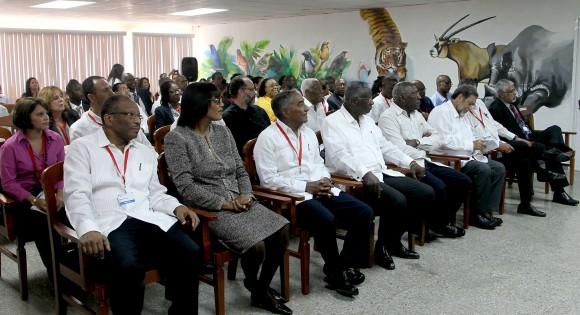 Visitan Parque Zoologico Nacional Delegados a la Cumbre Caricom Cuba. Foto: Ismael Francisco/Cubadebate.