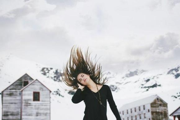 También aparece entre las mejores fotografías seleccionadas por Flickr esta tomada por Whitney Justesen en algún lugar de Alaska.