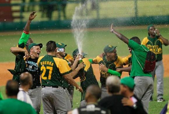 Pinar del río, Campeón de la 53 Serie Nacional de Béisbol. Foto: Ismael Francisco/ Cubadebate.