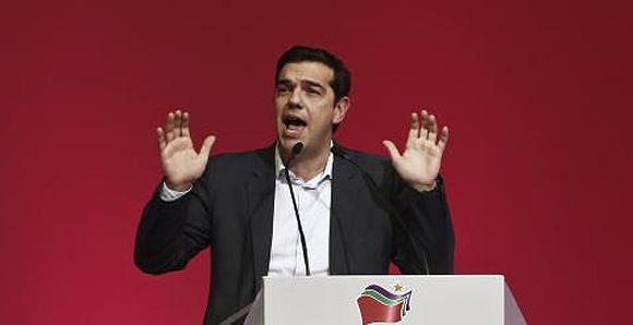 Alexis Tsipras, líder  de la Coalición de la Izquierda Radical (SYRIZA). Foto: Reuters