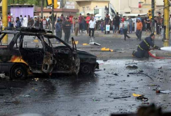 El ataque suicida desató un enfrentamiento entre las fuerzas de seguridad y un grupo de milicianos de Estado Islámico a principios de enero. Foto: AP.