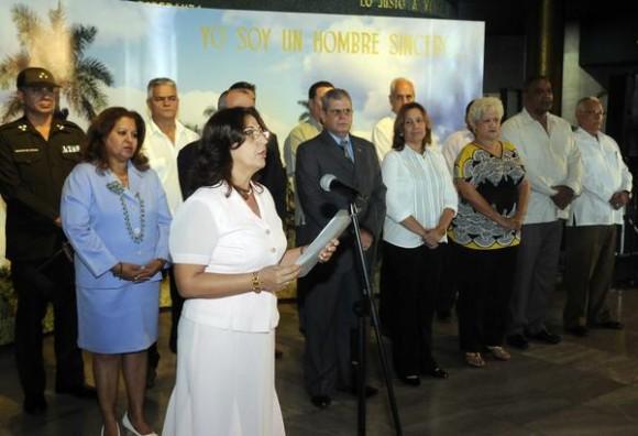 CUBA-LA HABANA-TOMA DE POSESIÓN DE LA COMISIÓN ELECTORAL NACIONAL