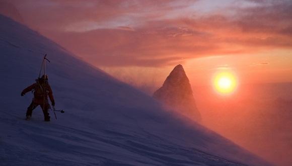 imágenes de la montaña Aiguille du Midi, en el macizo de Mont Blanc  2