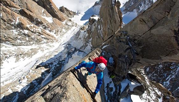 imágenes de la montaña Aiguille du Midi, en el macizo de Mont Blanc  3