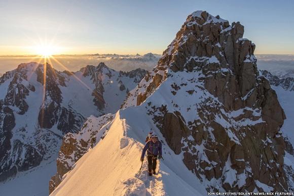 imágenes de la montaña Aiguille du Midi, en el macizo de Mont Blanc  6