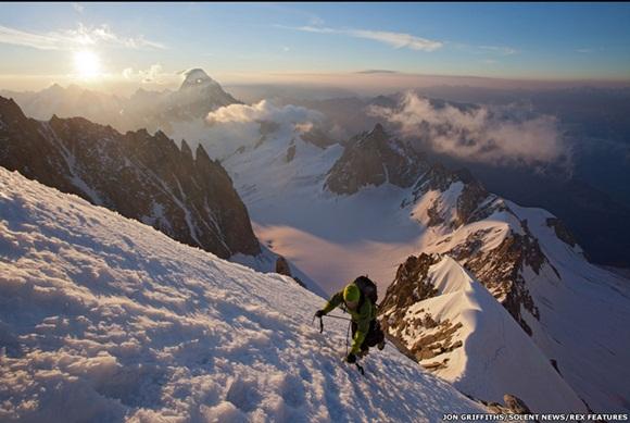 imágenes de la montaña Aiguille du Midi, en el macizo de Mont Blanc  7