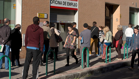 España lidera los datos de paro jvenil en la eurozona.