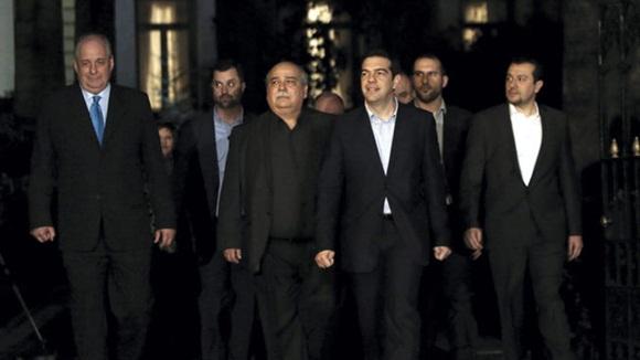 Desde que se proclamaran los resultados electorales del pasado domingo, Tsipras consiguió en menos de 48 horas formar un gobierno de coalición. Foto: Telecinco.